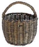 koszykowy stary wicker Obraz Royalty Free