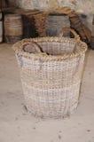 koszykowy stary wyplatający Fotografia Stock