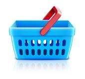 koszykowy ustalony zakupy Obraz Stock