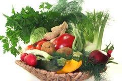 koszykowy warzywo zdjęcia royalty free