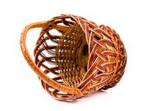 koszykowy wicker Fotografia Royalty Free