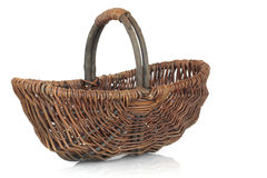 koszykowy wicker Zdjęcie Stock