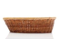 koszykowy wicker Zdjęcia Stock
