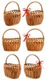 koszykowy wicker Zdjęcia Royalty Free