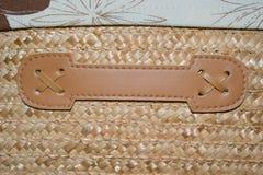Koszykowy wyplata teksturę Zdjęcie Royalty Free