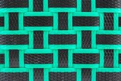 Koszykowy wyplata teksturę Fotografia Stock
