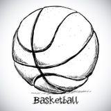Koszykówka projekt Zdjęcie Royalty Free