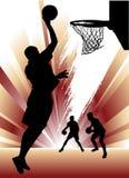 koszykówka wektor Obrazy Stock