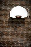 koszykówki ceglana obręcza ściana Zdjęcie Royalty Free