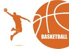 Koszykówki tło Zdjęcie Stock