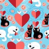 Kotów kochankowie Fotografia Stock
