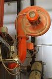 Kotłowy pokój Fan część bojler Obraz Royalty Free