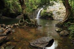 7 Kot瀑布,泰国 免版税库存照片