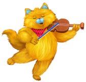 kot śmieszny Zdjęcie Royalty Free