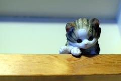 kot ceramiczny zdjęcie royalty free