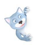 kot ściana Fotografia Stock