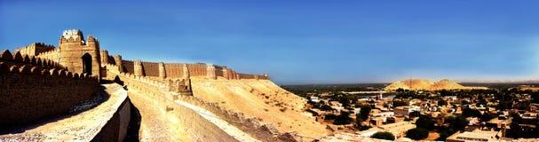 Kot Digi Fort - Khairpur, Sindh, Paquistão imagem de stock