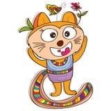 Kot duża głowa Obraz Royalty Free
