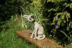 kot dziająca zabawka Zdjęcie Stock