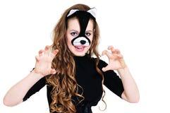 kot kobieta zdjęcia royalty free