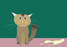 kot niegrzeczny ty Obrazy Royalty Free
