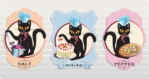 Kot pikantność royalty ilustracja