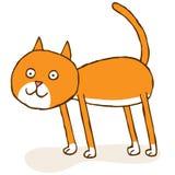 Kot pozycja ilustracji