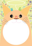 kot życzliwy eps Obrazy Royalty Free