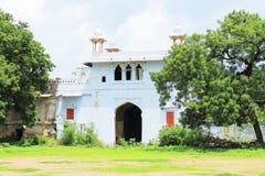 Kota宫殿和地面印度 免版税库存图片