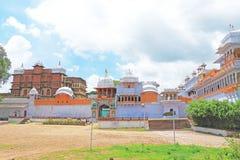 Kota宫殿和地面印度 免版税库存照片