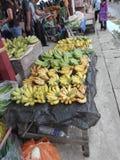 Kota Belud, Maleisië, zondagmarkt stock foto's