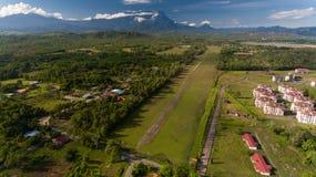 Kota Belud stad, Sabah arkivbild