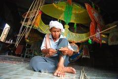 De maker van Wau Stock Foto
