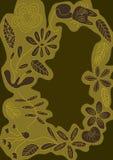 kota eps kwiatu linie przestrzeń styl Zdjęcia Stock