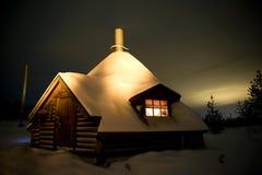 Kota i Lapland Royaltyfri Bild