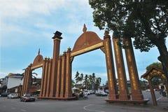 KOTA ISMAIL PETRA. Located at Kota Bharu town in Kelantan State in Malaysia royalty free stock photo