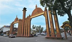 KOTA ISMAIL PETRA. Sultan Ismail Petra - A symbol of the famous Kelantan State to this day. There are several historical monuments and buildings that are close stock photos
