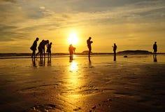 Kota Kinabalu Beach Stockbilder