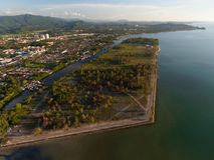 Kota Kinabalu City Resort arkivbild