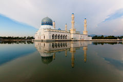 Kota Kinabalu floating mosque Royalty Free Stock Image