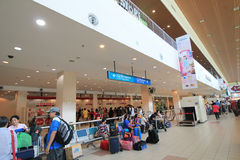 Kota Kinabalu International Airport Photographie stock