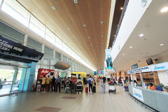 Kota Kinabalu International Airport Photos libres de droits