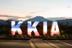 Kota Kinabalu International Airport photos libres de droits