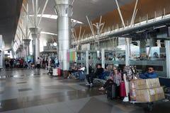 Kota Kinabalu International Airport, Sabah Photographie stock libre de droits