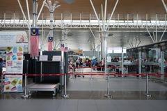 Kota Kinabalu International Airport Sabah arkivfoto