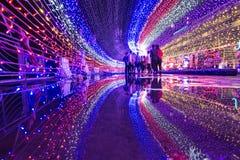 Kota Kinabalu Light Fantasy foto de stock