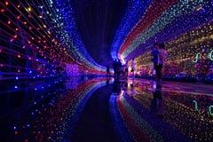 Kota Kinabalu Light Fantasy imagem de stock royalty free
