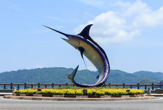 Kota Kinabalu Malaysia royaltyfria foton