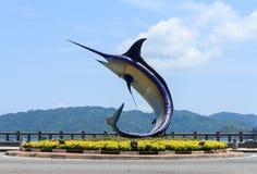 Kota Kinabalu,Malaysia. Kota Kinabalu, Sabah, Malaysia. Merlin monument royalty free stock photos