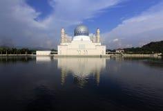 Kota Kinabalu meczet przy Sabah, Borneo, Malezja Obraz Stock